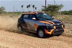 Rally-spec Mahindra XUV300 revealed