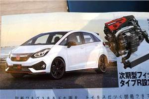 Next-gen Honda Jazz: First picture out ahead of Tokyo reveal