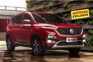 MG Hector sees waiting period of up to 7 months