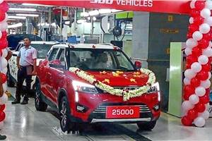 Mahindra XUV300 production crosses 25,000-unit mark