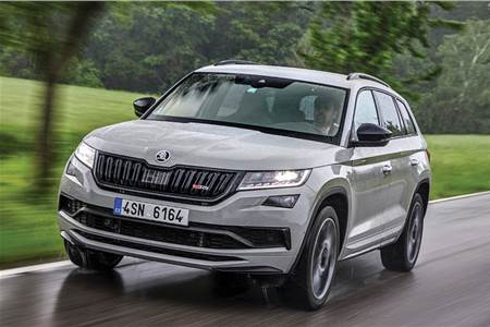 2019 Skoda Kodiaq RS review, test drive