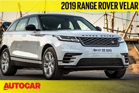 2019 Range Rover Velar video review