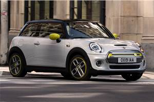 All-electric Mini Cooper SE revealed