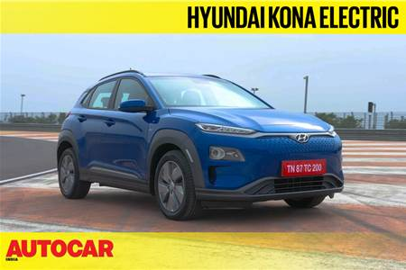 2019 Hyundai Kona Electric India video review