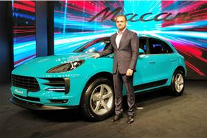 Porsche Macan facelift launched in India; priced from Rs 69.98 lakh