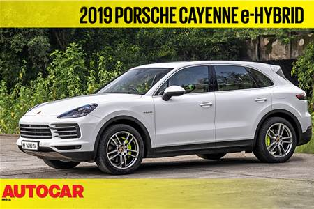 2019 Porsche Cayenne e-Hybrid video review