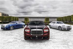 Ultra exclusive Rolls-Royce Ghost Zenith revealed