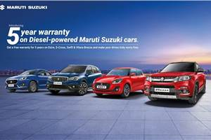 Maruti Suzuki Swift, Dzire, Vitara Brezza, S-Cross diesels get 5-year warranty