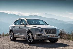 Bentley Bentayga to be updated for 2020