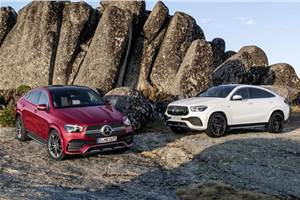 Next-gen Mercedes-Benz GLE Coupe revealed