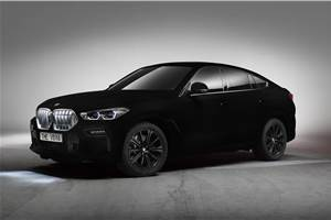 BMW to showcase X6 finished in 'Vantablack' at Frankfurt