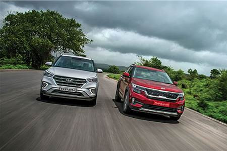 Kia Seltos vs Hyundai Creta comparison