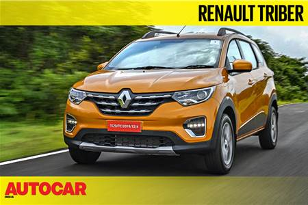 2019 Renault Triber video review
