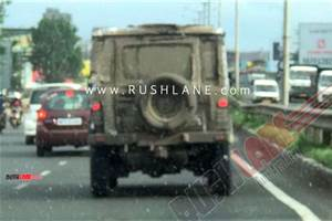 Next-gen Force Gurkha spied ahead of 2020 unveil