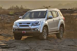 Discounts of up to Rs 2 lakh on Isuzu's MU-X