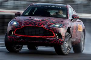 Aston Martin DBX to get 4.0-litre V8