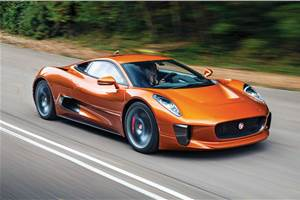 Next-gen Jaguar F-Type could be based on C-X75 concept
