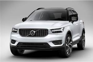 Fully electric Volvo XC40 SUV to be revealed in October