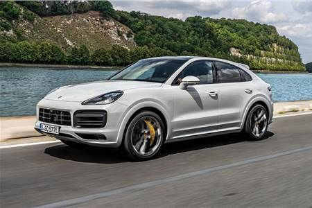2019 Porsche Cayenne Turbo S E-Hybrid Coupe review, test drive