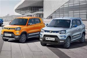 Maruti Suzuki S-Presso official accessories revealed