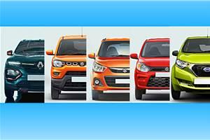 Renault Kwid facelift vs rivals: Specifications comparison