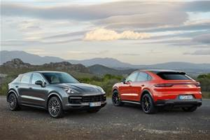 Porsche Cayenne Coupe India launch in December 2019