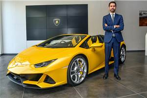 Lamborghini Huracan Evo Spyder launched at Rs 4.1 crore