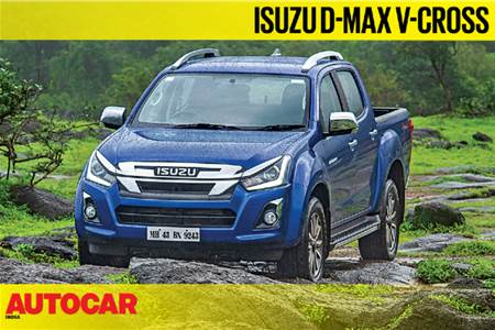 2019 Isuzu D-Max V-Cross Automatic video review