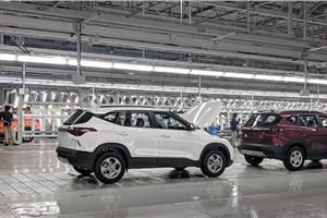 Kia begins Seltos SUV exports