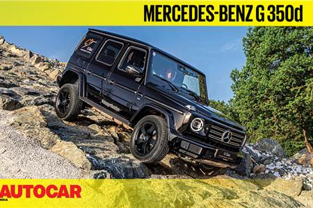 2019 Mercedes-Benz G 350d off-road video review