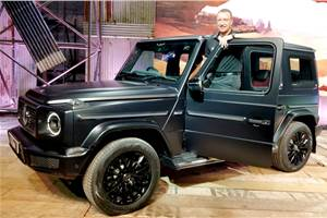 Mercedes-Benz G 350d launched at Rs 1.5 crore