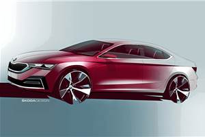 Next-gen Skoda Octavia sketches revealed