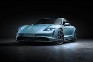 Porsche Taycan 4S EV unveiled