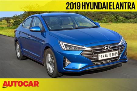 2019 Hyundai Elantra facelift video review