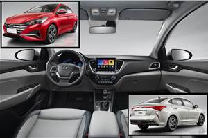Hyundai Verna facelift interior revealed