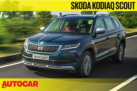 Skoda Kodiaq Scout video review