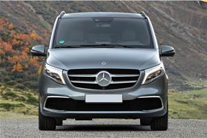 Mercedes V-class Elite launch on November 7, 2019