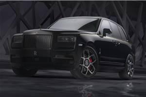 Rolls-Royce Cullinan Black Badge revealed