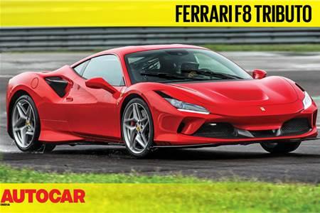 Ferrari F8 Tributo video review