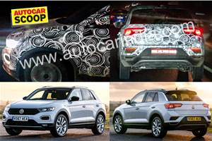 Volkswagen T-Roc spied in India for the first time