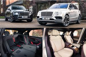 Bentley Bentayga now available with 4-seat, 7-seat layout