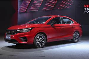 New Honda City RS Turbo revealed
