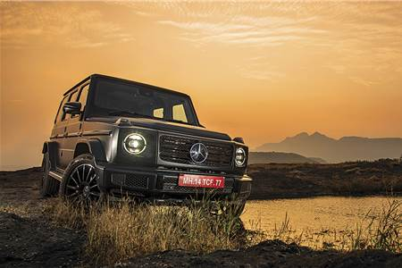 Mercedes-Benz G 350d review, test drive