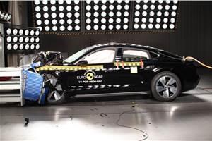 Porsche Taycan scores 5-star Euro NCAP rating