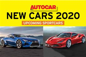 New cars for 2020: Sportscars to wait for