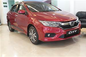 BS6 Honda City petrol launched at Rs 9.91 lakh
