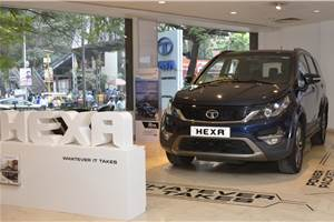 Tata Hexa now available with discounts up to Rs 2.3 lakh