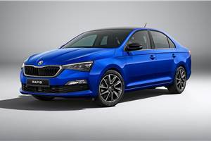 Refreshed Skoda Rapid for international markets revealed