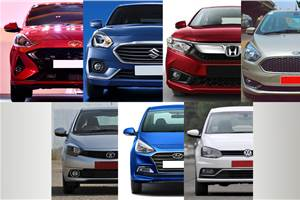 Hyundai Aura vs rivals: Specifications comparison