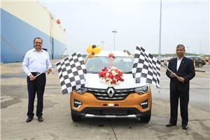 India-made Renault Triber exports begin
